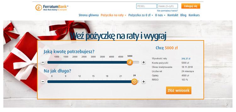 Pożyczki bez zaświadczeń w ofercie Ferratum Banku