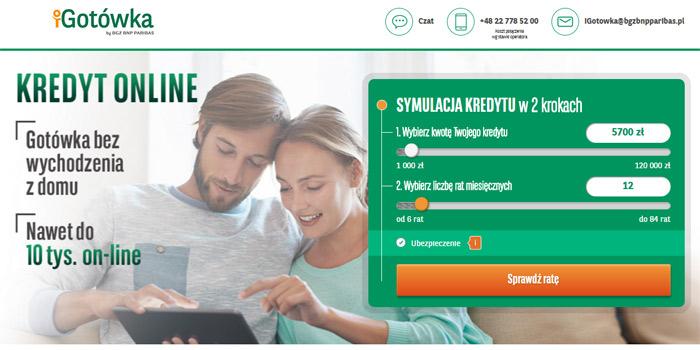 kredyty bankowe przez internet w iGotówka