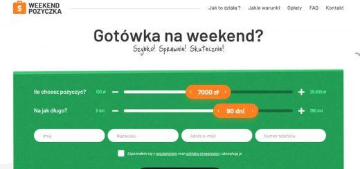 Weekend Pożyczka