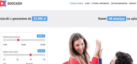 Duocash pożyczka z trudną historią kredytową