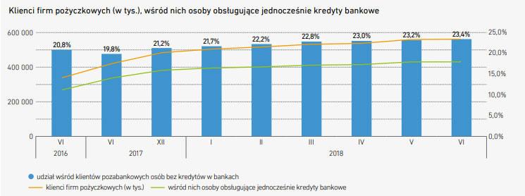ile klientów firm pożyczkowych?