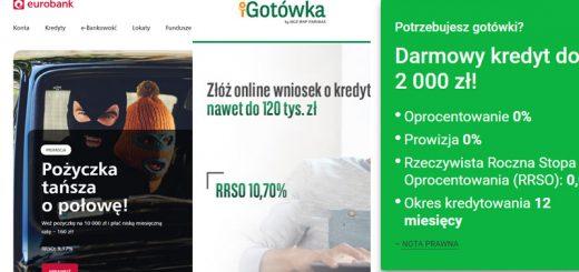 Które banki udzielają kredyty bankowe online?