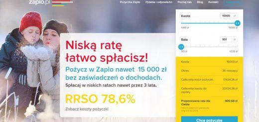 Pożyczki Online Zaplo 15000 zł