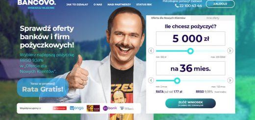 Bancovo kredyty i pożyczki online